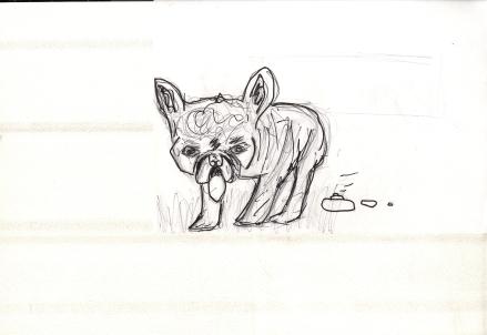 Pre-Valentine Dog